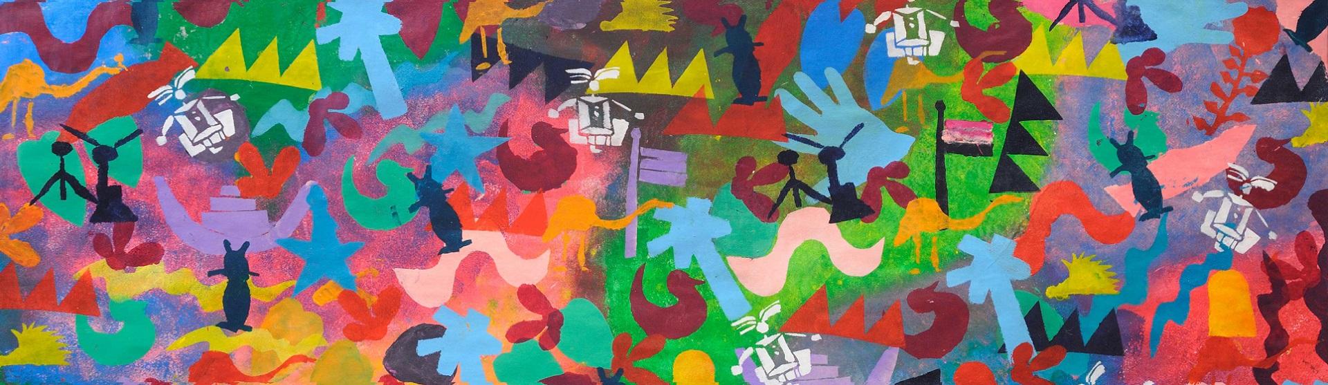 Graffiti di bambini